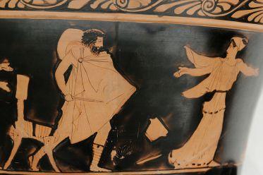 Odysseus chasing Circe. (Image: Marie-Lan Nguyen)