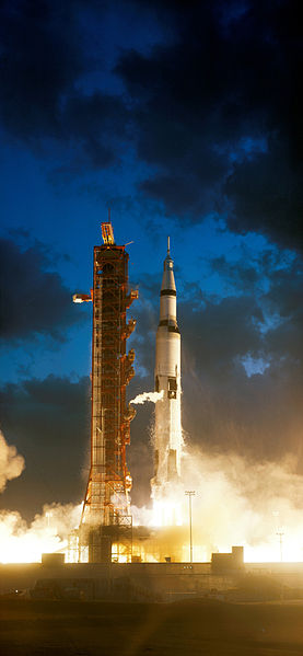 Apollo 4 launch (image credit: NASA)