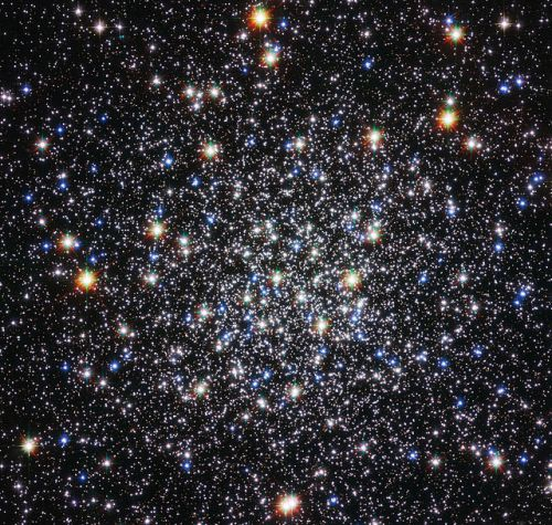 Messier 12 from the Hubble Space Telescope (image credit: NASA / STScl / ESA)