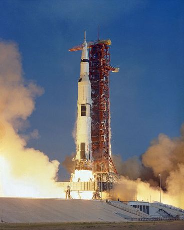 Launch of Apollo 11 (image credit: NASA)
